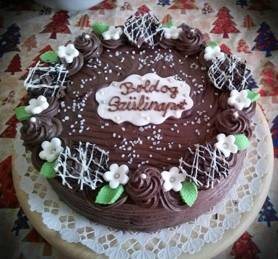 Párizsi krémes torta