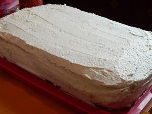 focipálya torta alapja