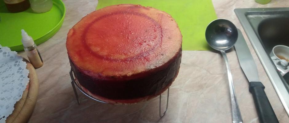 Mignon torta díszítés előtt