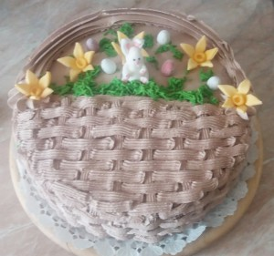 kosárfonasos torta
