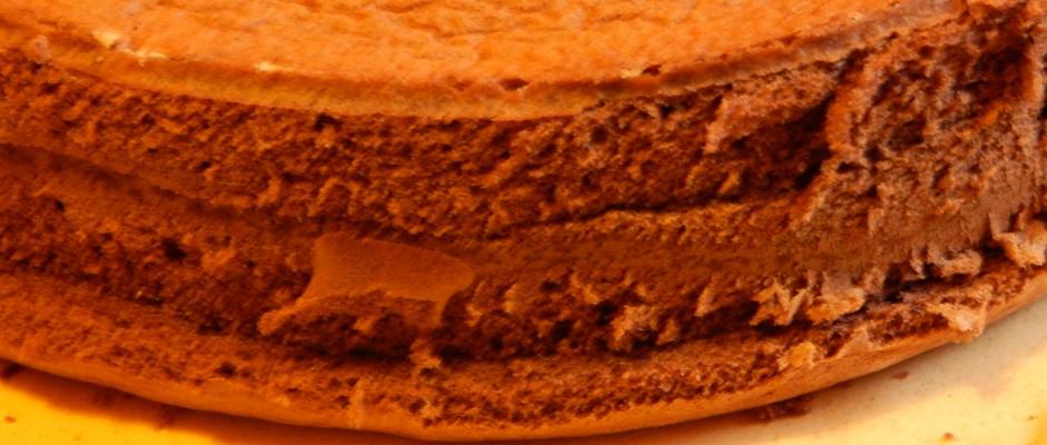 Mozart torta piskota