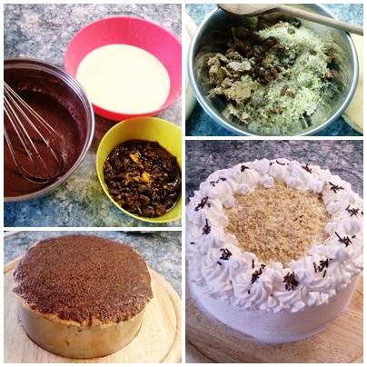 A Somlói torta elkészítése képekben