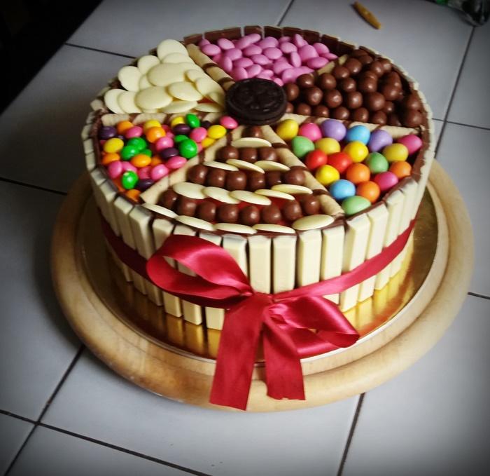 torta képek Kit Kat torta   Tortareceptek torta képek