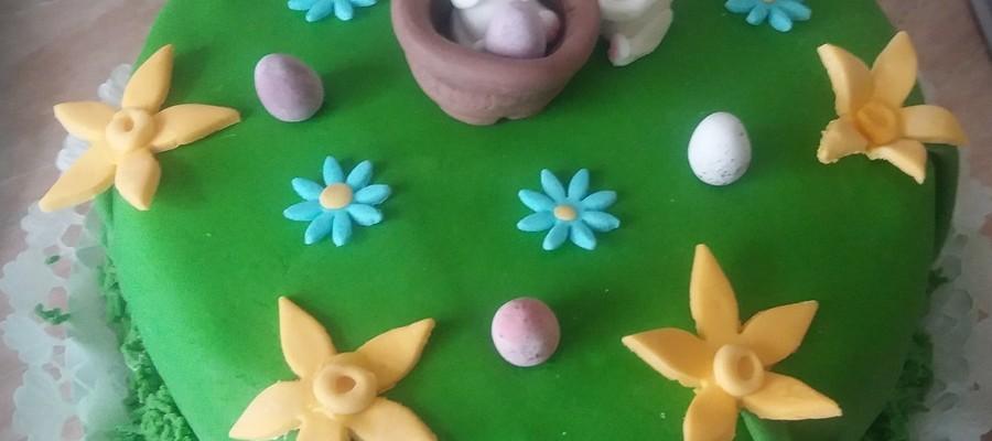 burkolt húsveti torta