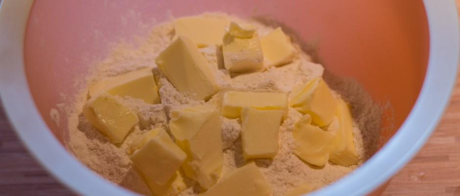 citromtorta tésztája