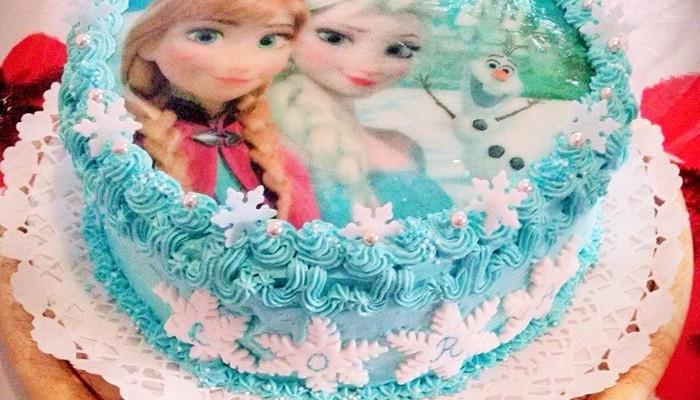 Jégvarázs torta dekoráció