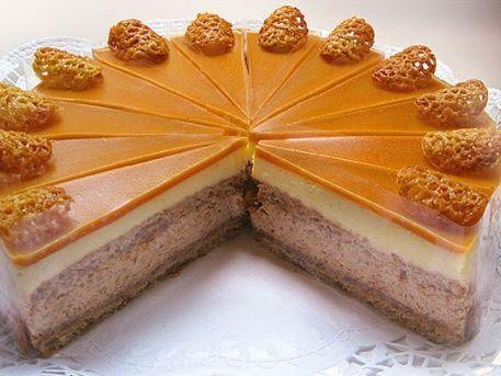 Milotai mézes grillázstorta - Az Ország tortája 2013