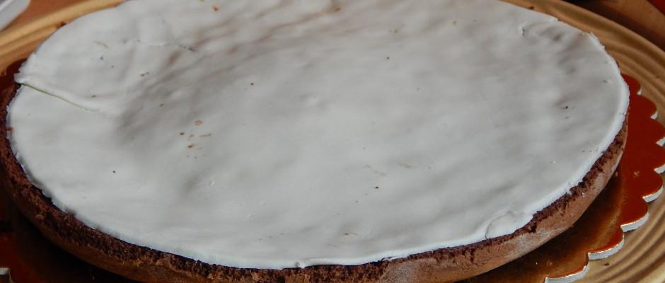 Mozart torta marcipán réteggel