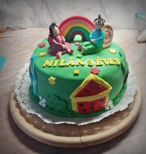 Bogyó és Babóca torta